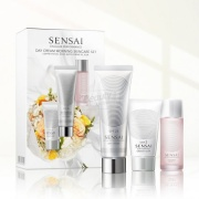 Kanebo Sensai Cellular Performance Day Cream Morning Skincare Set Набор