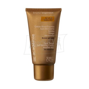 Academie Bronz'Express Face Tinted Self Tanning Cream Крем-автозагар для лица 50 мл