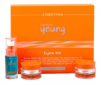 Christina Forever Young Eyes  Kit - набор для глаз (3 products)