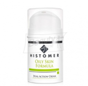 Histomer OILY SKIN Dual Action Cream Крем двойного действия Anti-age для жирной кожи 50 мл