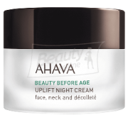 Ahava Beauty Before Age Uplifting Night Cream For Face, Neck & Decollete Лифтинговый ночной крем 50 мл