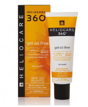 Cantabria Labs Heliocare 360º GEL OIL-FREE SPF50 Солнцезащитный гель на водной основе SPF50 50 мл