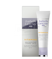 Isabelle Lancray Vitamina Ultra Light Protecting Cream With Vitamines SPF 15 Ультра легкий защитный крем с SPF 15 25 мл